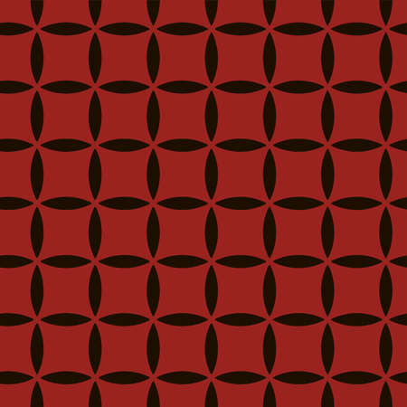 Full seamless geometric mold texture pattern vector for decoration. Red design for textile fabric print and wallpaper. Grunge model for fashion and home design.