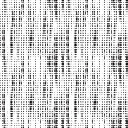 Full seamless halftone vertical lines texture pattern vector for decoration. Dirty black and white illustrator design for textile fabric print and wallpaper. Grunge model for fashion and home design.