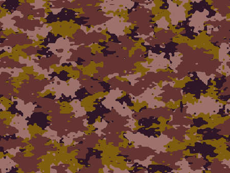 Full seamless abstract military camouflage skin pattern vector for decor and textile. Army masking design for hunting textile fabric printing and wallpaper. Design for fashion and home design. Vecteurs