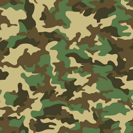 Full seamless camouflage texture skin pattern vector for military textile. Usable for Jacket Pants Shirt and Shorts. Army camo masking design for hunting fabric print and wallpaper.