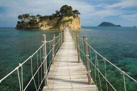 Agios Sostis Island on the Laganas Gulf, Zakynthos photo