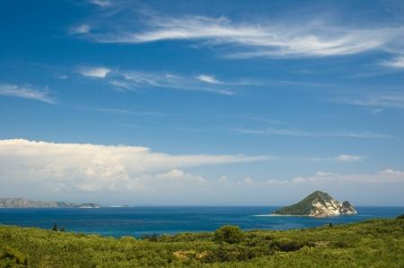 Marathonisi Island in the Laganas Gulf, Zakynthos photo