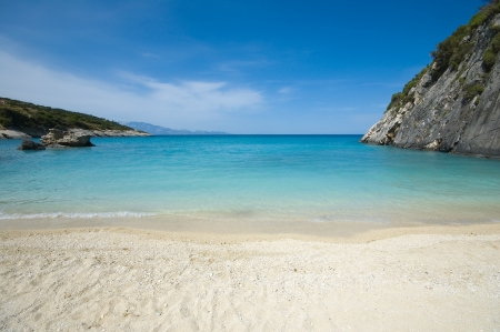 Hermosa playa de Xingia, Zakynthos photo