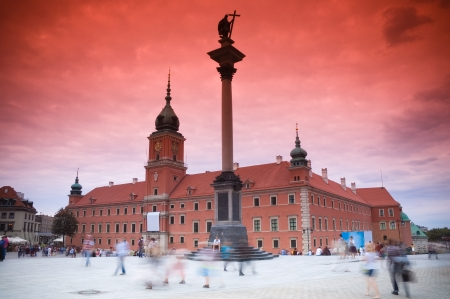 warszawa: View of Sigmund s Column, Warsaw