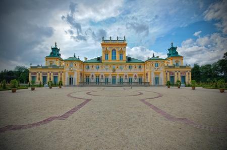 sobieski: Royal palace in Wilanow, Poland