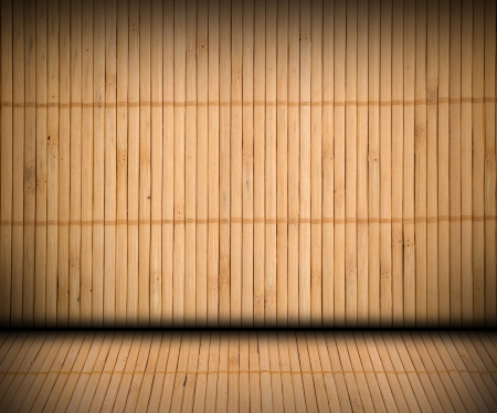 Bamboo creative textured interior photo