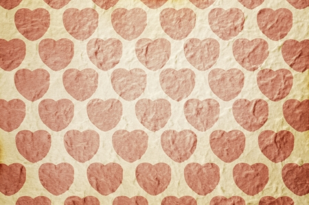 Heart pattern paper background for Valentines or Mothers Day photo