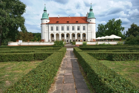 renaissance: Renaissance style castle in Baranow Sandomierski, Poland