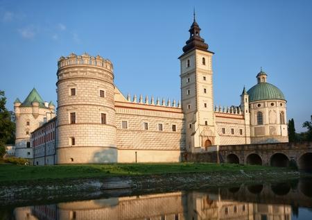 renaissance: Renaissance style castle in Krasiczyn, Poland Editorial