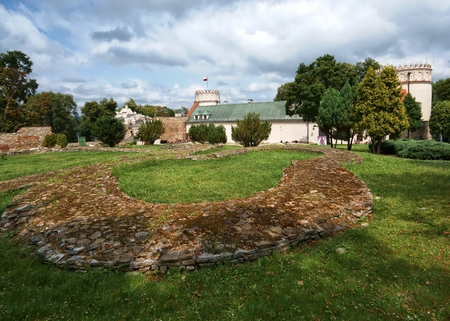 renaissance: Renaissance style castle in Przemysl, Poland Editorial