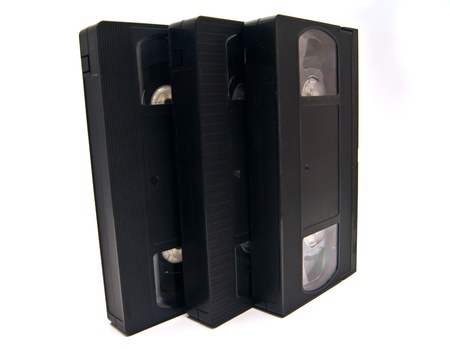 three vhs each other