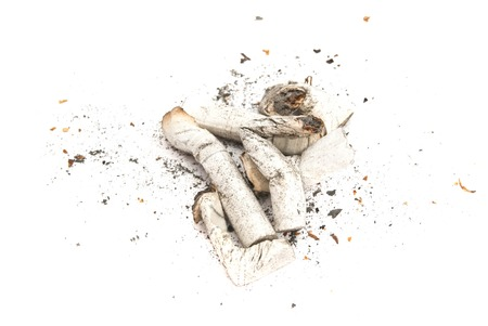 heap: heap of cigarette  with filter Stock Photo