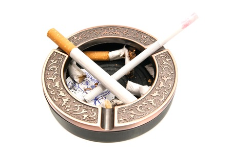 procreation: hazards of smoking for procreation on white background
