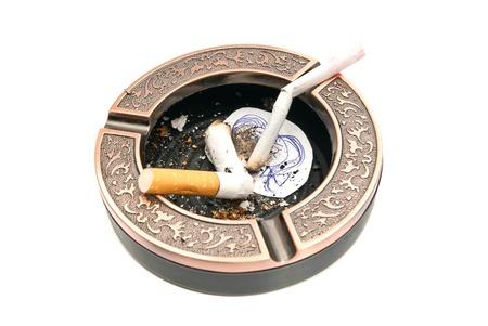 procreation: hazards of smoking for procreation concept closeup on white