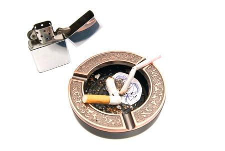 procreation: hazards of smoking for procreation concept on white