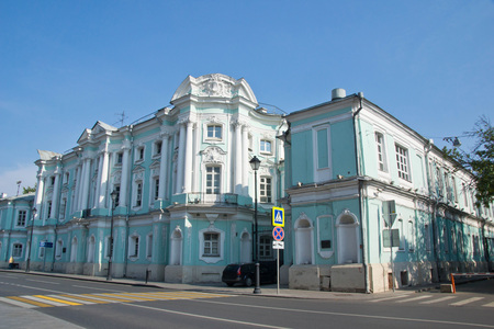 historic buildings: beautiful historic buildings in the city center Editorial