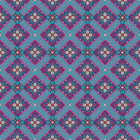 vector background in the bohemian style of the triangles