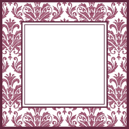 Vintage ornate frame Stock Vector - 9946076