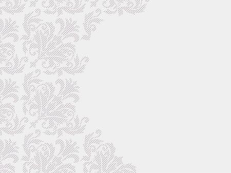 invitation de mariage texturée floral