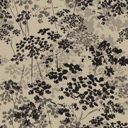 arty: seamless floral background
