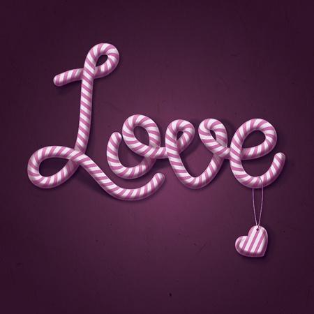 Lollipop Valentines card photo