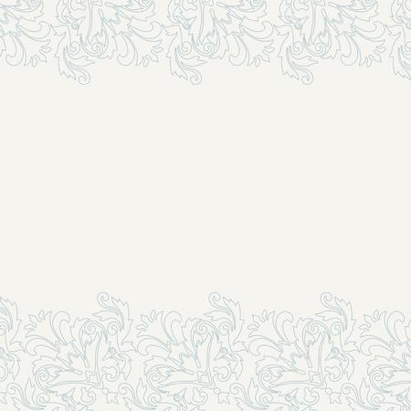 invitaci�n matrimonio: Invitaci�n ornamental cl�sico