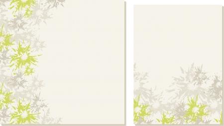 Spring-summer wedding templates  set 1