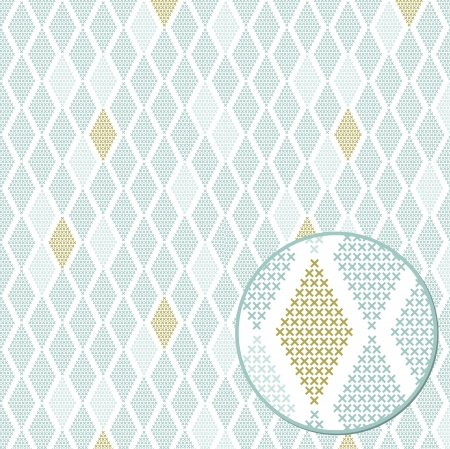 Geometric seamless pattern, can be used as background Vector