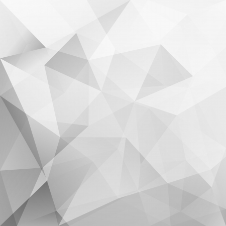 gray background: abstract triangle background, vector