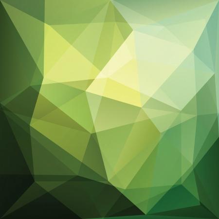 poligonos: tri�ngulo fondo abstracto, vector