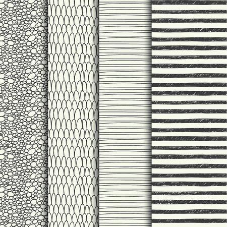 zen: Set of four handdrawn textures