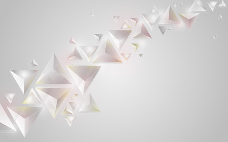crystal background: Abstract geometric crystal background