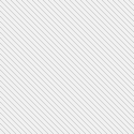 Thin white and grey pixel seamless diagonal stripes for web background, vector illustration 矢量图像