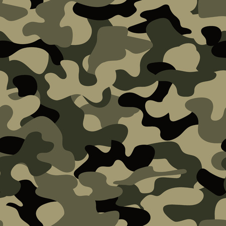 baffle: Modern fashion trendy camo pattern, vector illustration Illustration