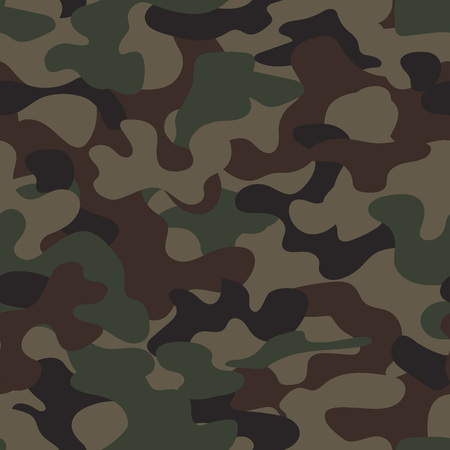 fatigues: Modern fashion trendy camo pattern, vector illustration Illustration
