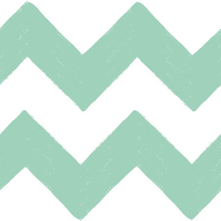 Hand drawn textured zig zag seamless pattern. Vector ilustration.