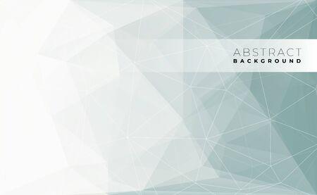Abstract modern triangle polygonal background, vector illustration. Vector Illustratie