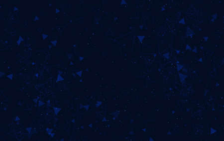 Dark blue abstract geometric background, vector illustration.