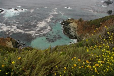 big sur: Big Sur Blue Hole