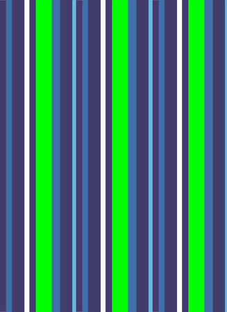 An illustration of blue and neon green colored stripes that resemble a beach towel