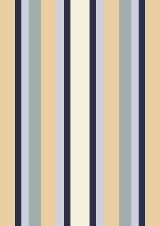 An illustration of stripes in the colors of tan and blue that remind one of pajamas Stock Photo