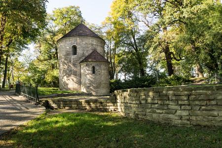 Romanesque rotunda from circa 1180, St. Nicholas Church. Cieszyn, Poland, Europe.