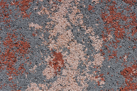 pink and brown: Colorful surface as background - grey, pink, brown stains and dots. Safety rubber floor mats. Children playgrounds and outdoor recreations