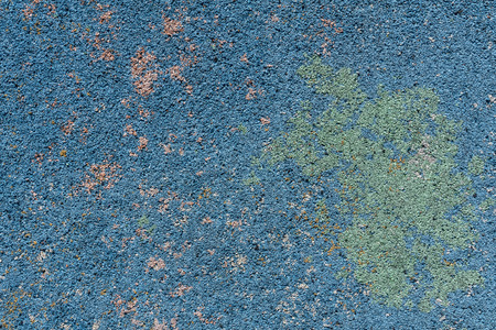 floor mats: Colorful surface as background - blue, green, violet stains and dots. Safety rubber floor mats. Children playgrounds and outdoor recreations