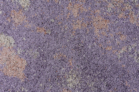 floor mats: Colorful surface as background - violet, pink, grey stains and dots. Safety rubber floor mats. Children playgrounds and outdoor recreations Stock Photo