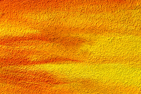 roughcast: Colorful roughcast texture. Yellow orange background. Stock Photo