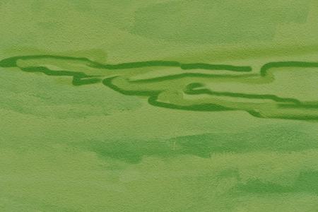 Abstracte groene achtergrond. Detail van een graffitikunst op een muur. Textuur van geschilderde muur. Stockfoto