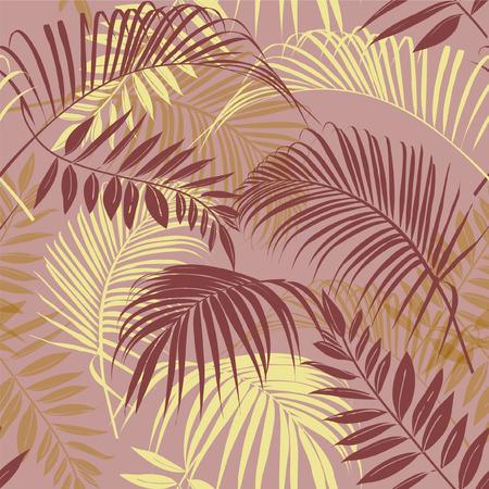 Leave pattern. Illustration