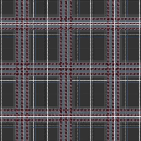 Winter grey Tartan, Plaid seamless pattern in vector design for fashion, fabric, wallpaper, web and all prints