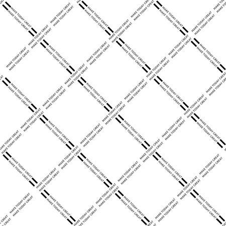 Minimal trendy typo diagonal window vector illustration